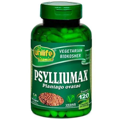 PSYLLIUM 120 CÁPSULAS 550MG - UNILIFE