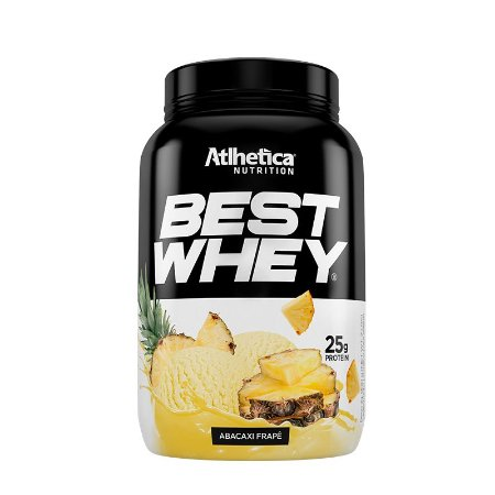 BEST WHEY ABACAXI FRAPE 900G - ATLHETICA