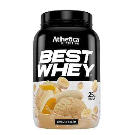 BEST WHEY BANANA CREAM 900G - ATLHETICA