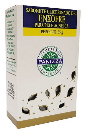 SABONETE GLICERINADO ENXOFRE 85G - PANIZZA