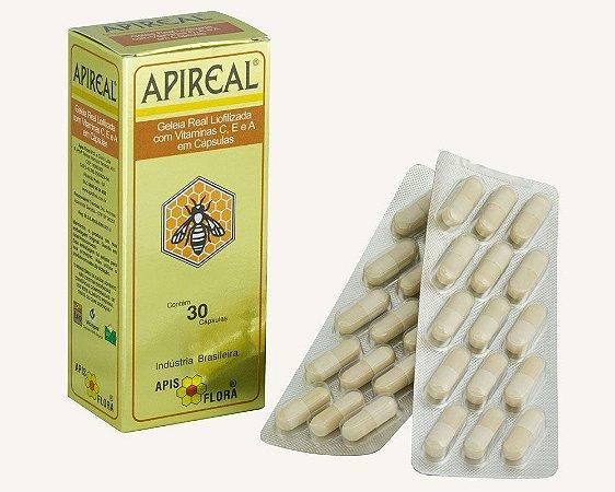 APIREAL - GELEIA REAL LIOFILIZADA 30 CÁPSULAS - APIS FLORA