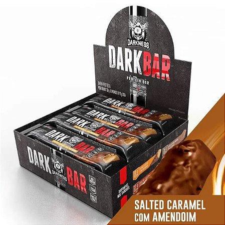 DARK BAR PROTEIN SALTED CARAMELO C/ AMENDOIM 24G DE PROTEÍNA (9 UNIDADES) - INTEGRAL MÉDICA