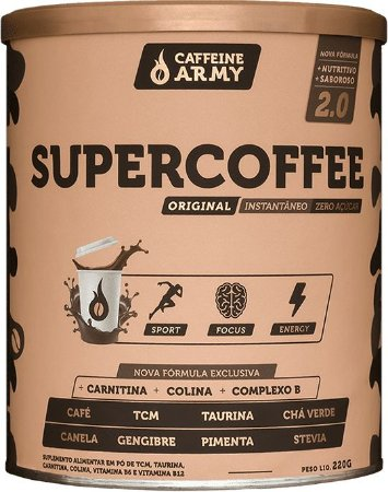 SUPERCOFFEE 2.0 ORIGINAL 220G - CAFFEINE ARMY