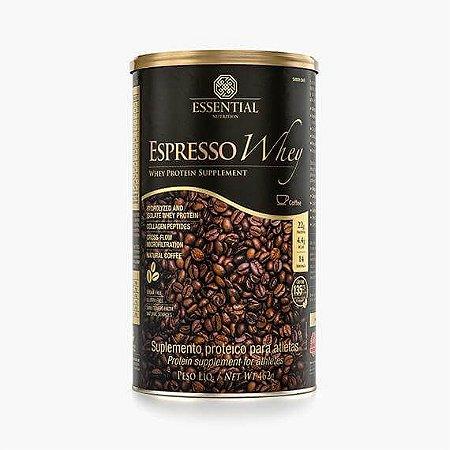 ESPRESSO WHEY 462g | 14 doses Whey Protein Hidrolisado e Isolado com Extrato de Café - ESSENTIAL