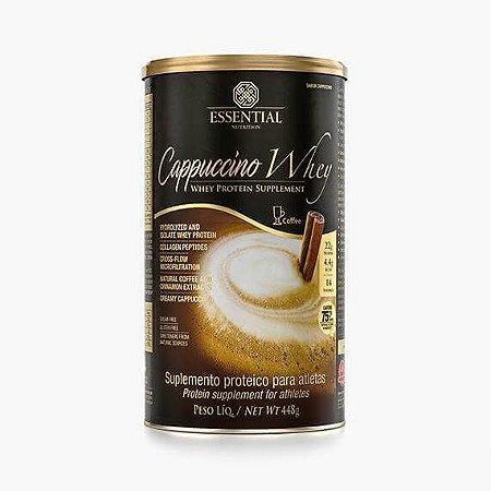 CAPPUCCINO WHEY 448g | 14 doses Whey Protein Hidrolisado e Isolado sabor Cappuccino - ESSENTIAL