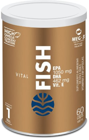 VITAL FISH 60 CÁPSULAS - VITAL ATMAN