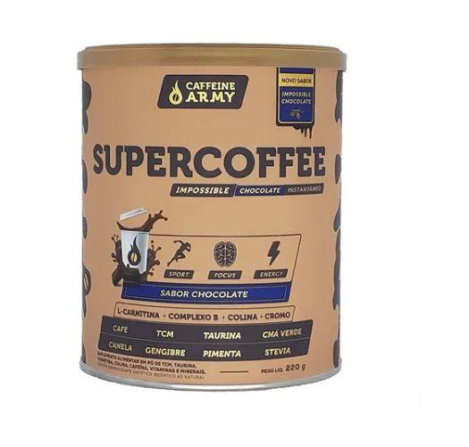 SUPERCOFFEE CHOCOLATE 220G - CAFFEINE ARMY