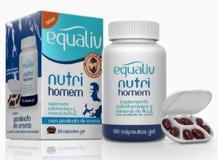 NUTRI HOMEM 60 CÁPSULAS - EQUALIV