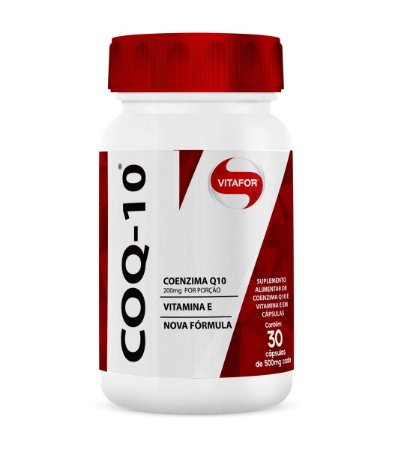 COENZIMA Q10 30 CAPS 500MG - VITAFOR