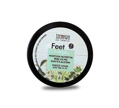 Manteiga Nutritiva para os pés Karité e Alecrim