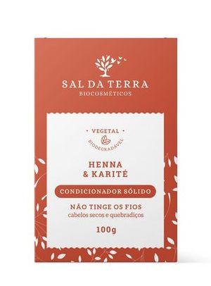 Condicionador Sólido Henna & Karité