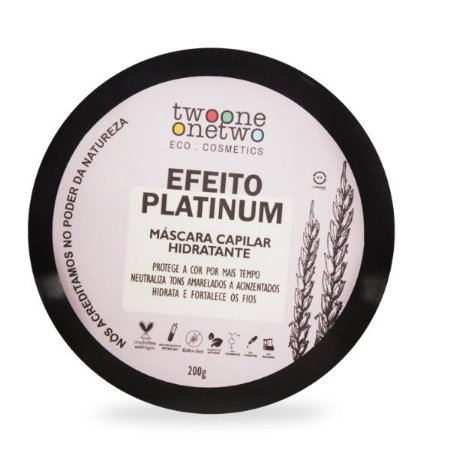 Máscara Capilar Hidratante - Efeito Platinum