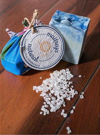 Sabonete de Limpeza: Sal e Anil