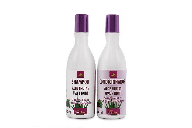 Shampoo Aloe Frutas Uva e Noni