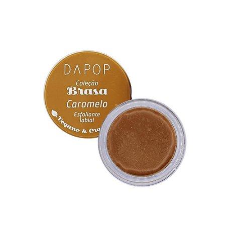 Esfoliante Labial Caramelo Vegano e Orgânico Dapop