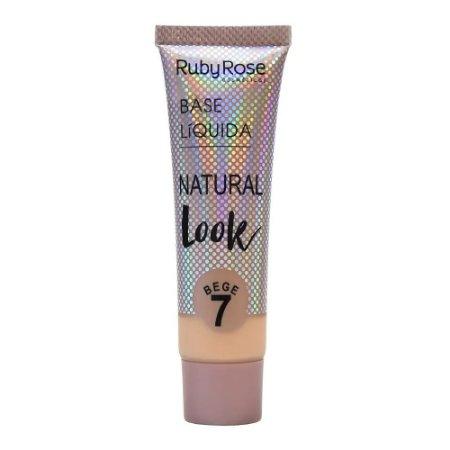 Base Liquida Natural Look Bege 7 Ruby Rose Cód.HB-8051