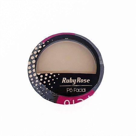 Pó Compacto Facial Ruby Rose Cor 16 HB7212