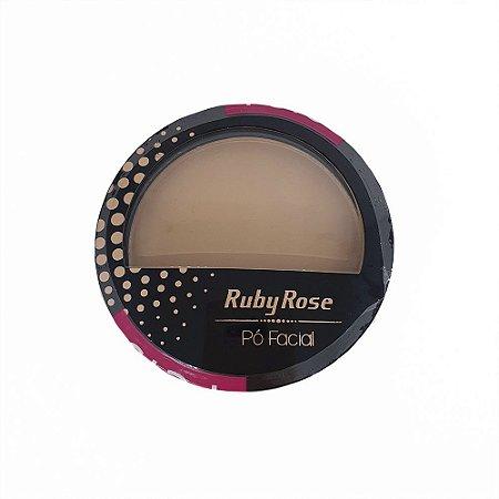 Pó Compacto Facial Ruby Rose Cor 15 HB7212