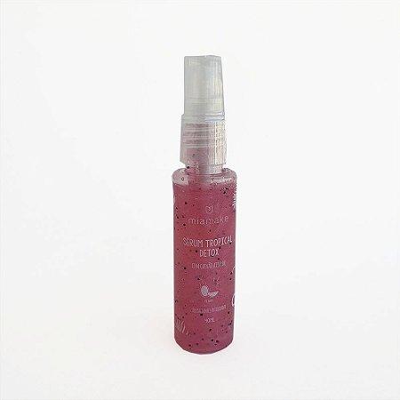 Serum  Tropical  Detox com Carvão Ativado Pitaya Mia Make Cod.198