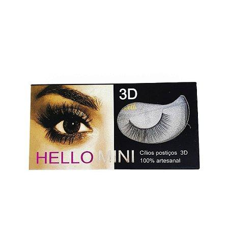 Cilios Postiços 3D Hello Mini Cod. CL035-8