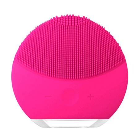 Esponja Para Limpeza Facial e Massageador Elétrico - Pink