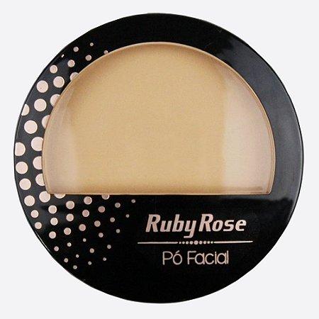 Pó Compacto Facial Cor 05 Ruby Rose Cód.HB7212
