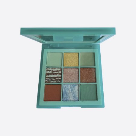 Paleta de Sombra Pastels Mint Huda Beauty