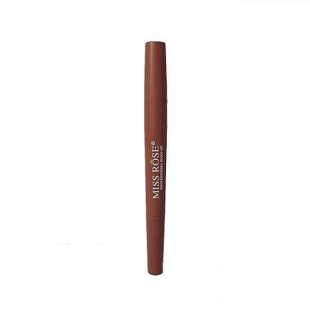 Batom Lipstick 2 em 1 Miss Rose cor 39 Muss Nude Matte