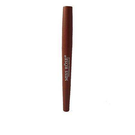 Batom Lipstick 2 em 1 Miss Rose cor 43 Rows Nude Matte