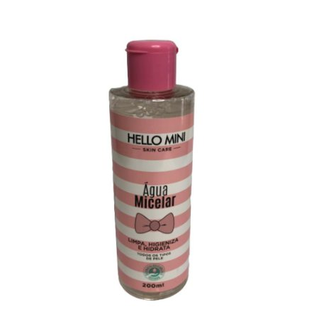 Agua Micelar 200ml  Hello Mini