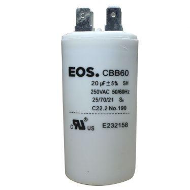 Capacitor Permanente 20UF 250V+- 5%