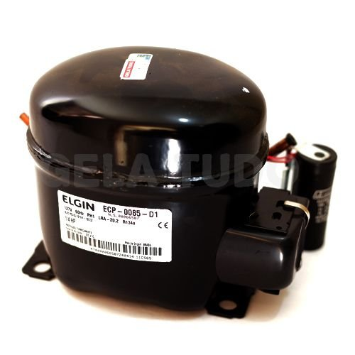 Compressor Elgin 1/4 HP  R134A 110V 60HZ ECP0085D10