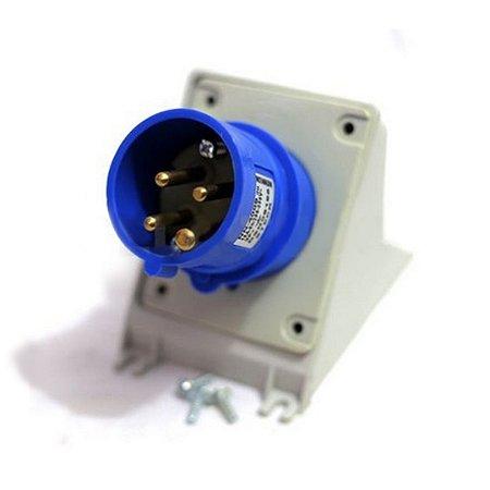 Plug Fix Sob Newkon 3P+T 16A 2 Acoplamento