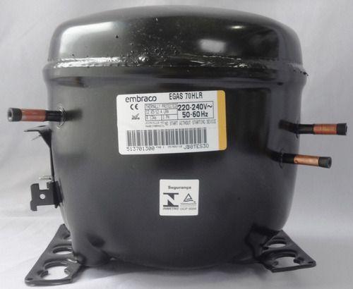 Compressor Embraco 1/5+ R134A EGAS70HLR 220V 50-60HZ