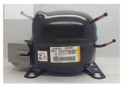 Compressor Embraco 1/8 HP R134A 220V 50-60HZ EMI 45HER
