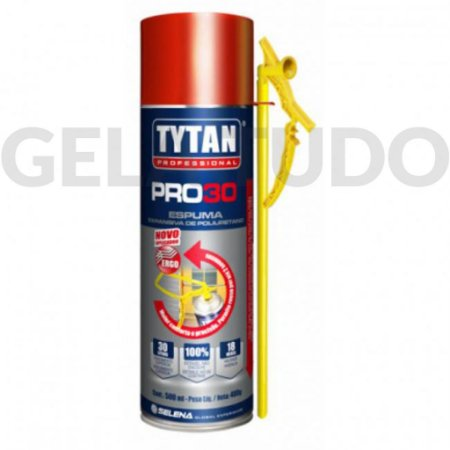 Espuma Expansiva Tytan PRO 30 - 500ml