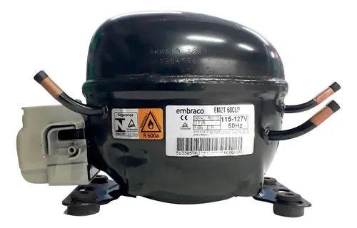 Compressor Embraco 1/6  R600 110V/60HZ EM2T60CLP