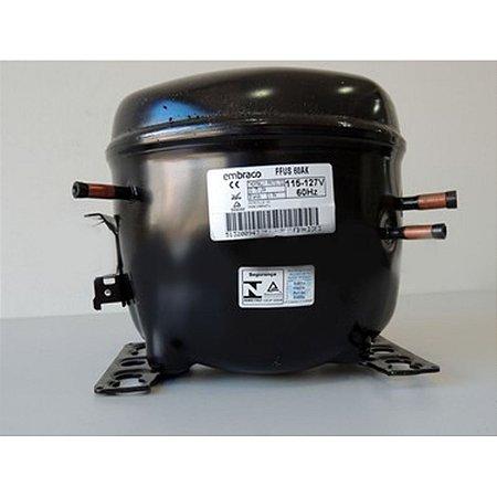 Motor Compressor Embraco Blends 1/5+ HP 110V FFUS60AK 60HZ 51320094799ZC