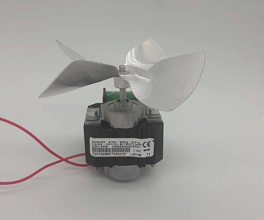 Micro Motor 1/100 Cervejeira MSP 250840 60HZ 110V Volts com Helice