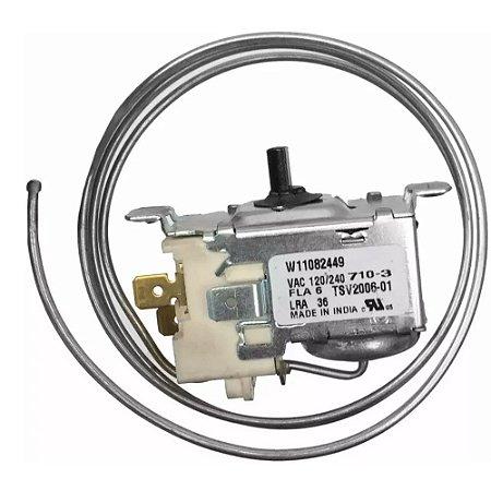 Termostato Eletromecanico Refrigerador Brastemp BRB/BRD/CRD TSV 2006 01 Original W11082449