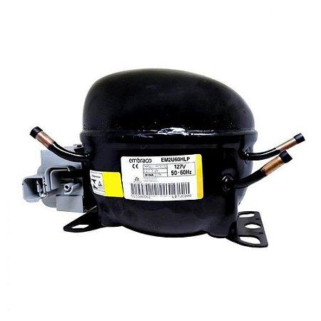 Compressor Embraco 1/5 R134   Coquinho 110V EM2U60HLP