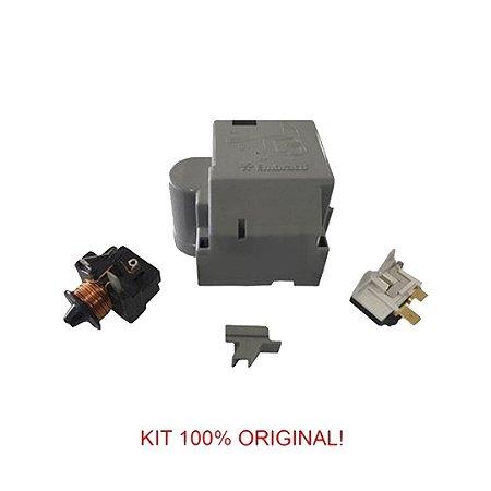 Rele e Protetor Térmico Embraco 1/4+ FFU 80 (H) AK 220V/60Hz - com Caixa