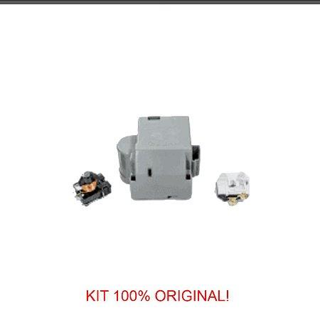 Rele e Protetor Térmico Embraco 1/5 EMI 70HER 110V/60Hz - com Caixa