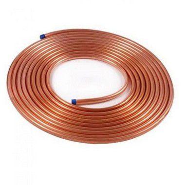Tubo cobre 1/4 - METRO