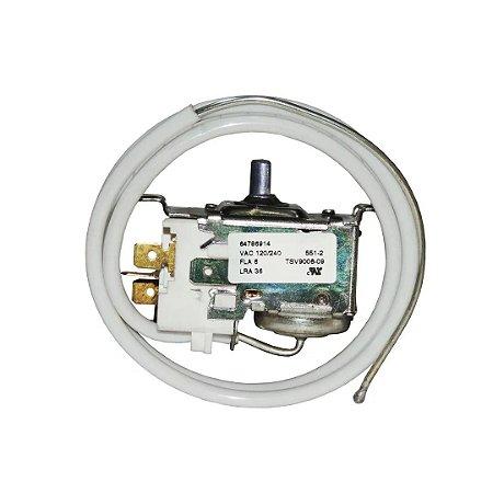 Termostato para Refrigerador Electrolux DC33 / DC35 / DCW35 Original - TSV9006-09 - 64786914