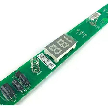 Placa Interface Refrigerador Electrolux Original DF47/DF49A/DF50/DFN50DFN49/DFW50/ DFX49/DFX50 - 64502351