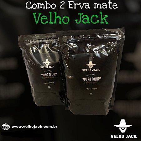 Combo 2 Ervas Mate Velho Jack Pura folha - Premium