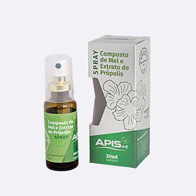 Spray composto de mel e própolis 30ml