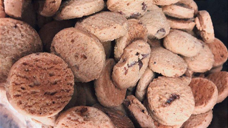 Cookies de baunilha e gotas de chocolate 100g