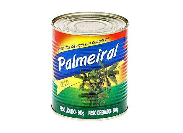 Palmito inteiro açai palmeral 500g